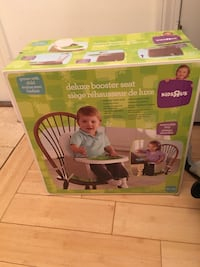 KidsRus deluxe booster seat box Newton, 02465