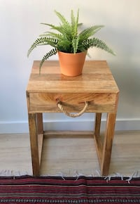 Rustic Accent Table Washington, 20024