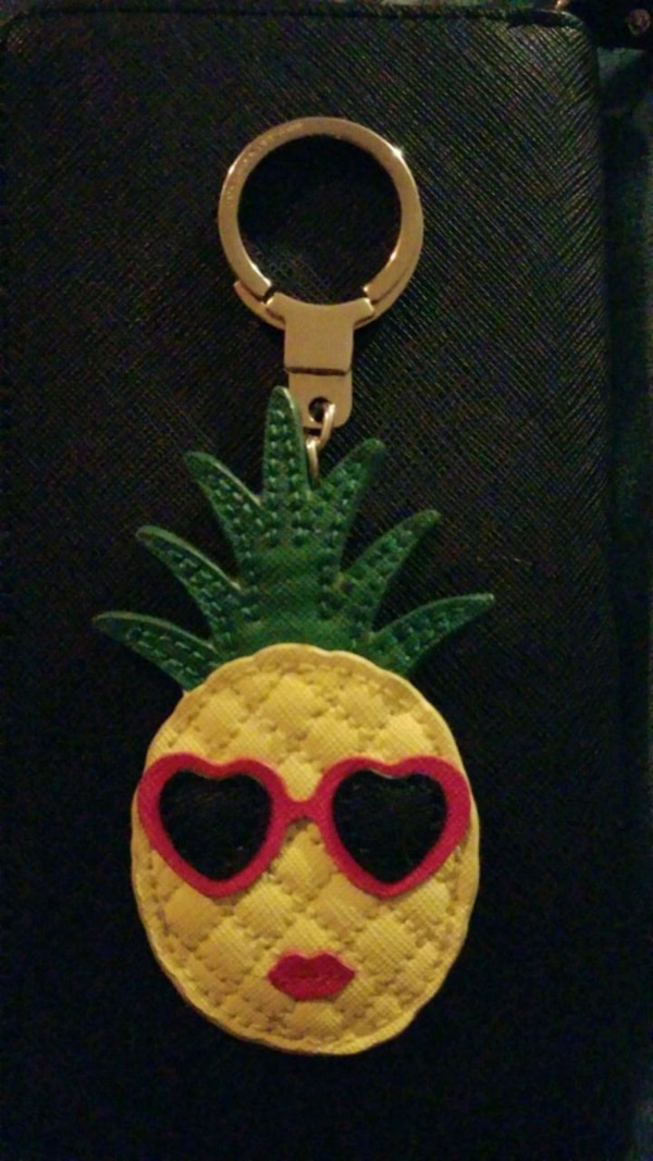 Kate Spade Large Pineapple Key Chain