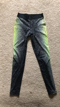 black and green stripe pants Troy, 45373