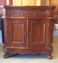New Asian mahogany solid wooden cabinet Mississauga, L4W 2Z5