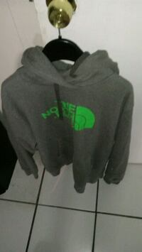 gray and green pullover hoodie Detroit, 48214