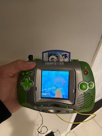 Leapster Learning  Game System And Sonic Game