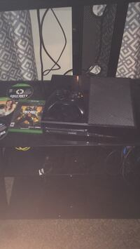 black Xbox One console with controller and game case New Britain, 06051