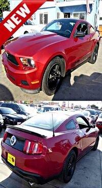 red and black sedan collage South Gate