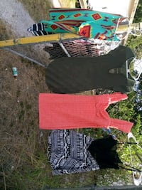 two black and one red shirts Corpus Christi, 78404