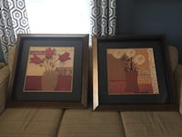 Two Large Framed Pictures Leesburg