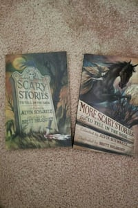 Scary Stories books