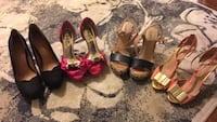 Moving sale each pair $20 some never worn the others worn once only St Catharines, L2S 2J8
