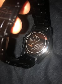 Armani exchange watch 58 km