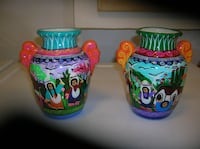 Two (2) Vases from I believe Guatamala Springfield