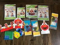 Sesame Street Party Items  Hunts Point, 98004
