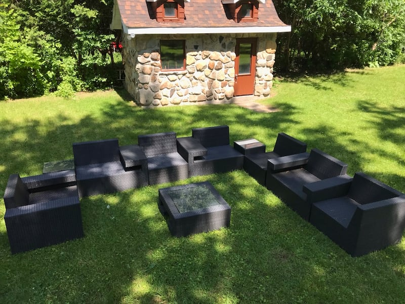 Outdoor seating (sectional) 10 pieces efd5f49d-a406-46bd-a5ab-d2a918c4d328