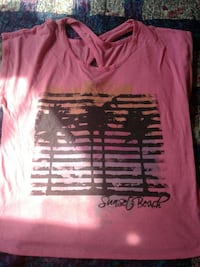 Urban sunset beach shirt Edmonton, T6K 3C5