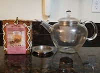 teapot and flowering tea Frederick