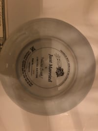 Teddy bear collection plate limited addition with paper Poughquag, 12570