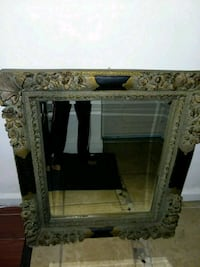 Gorgeous black and gold antique mirror Queens, 11377