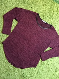 Weinroter Pullover  6539 km