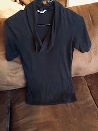 Small Black Cowl Neck Top Nashville, 37214