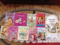 Ten assorted story books all in excellent conditions. all $10 Hamilton, L8V 4K6