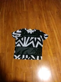 black and white chevron crew-neck shirt Gaithersburg, 20878