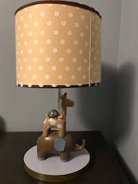 brown and white table lamp Bradford West Gwillimbury, L3Z