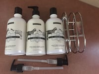 Beekman 1802 Goat Milk Lotion and HandWash plus holder and pumps Torrington, 06790