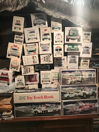50 hess truck collection!! ALL NEW IN BOXES Berkeley Heights, 07922