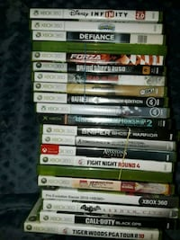 assorted Xbox 360 game cases Stafford, 22556