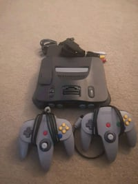 Nintendo N64 with two controllers Langley City, V3A 4K7