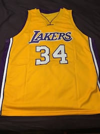 Shaquille O'Neal signed Lakers Jersey Toronto, M1M 2G2