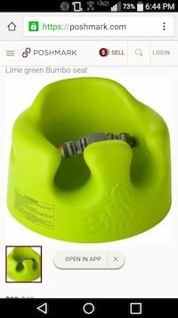 Lime green Bumbo seat Bakersfield, 93305