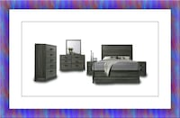 11pc Kate bedroom set free mattress and delivery McLean