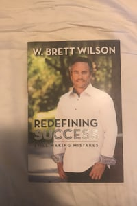 Signed Redefining Success by W. Brett Wilson