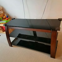 black and brown wooden TV stand Guelph, N1L 1T6