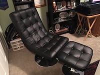 Leather chair and foot rear  Surrey, V4P 3H9