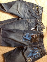 One is size 16 waist 30 other size is 18 waist 31 never worn Madison, 53713