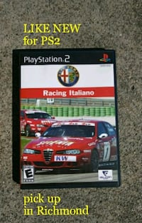 Alfa Romeo Racing Italiano for PS2 - LIKE NEW Richmond, 94804