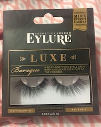 Eylure luxe baroque eyelashes