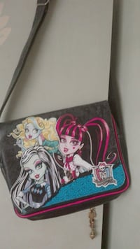 Cartera bandolera escolar Monster High Sant Celoni