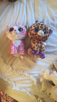 2 animal plush toy Great Falls, 22066