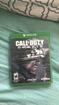 Call of Duty Ghosts Xbox One game case Fairfax, 22031