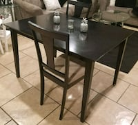 Black dining table Phoenix, 85031