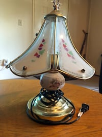 white and pink floral table lamp Citrus Heights, 95610
