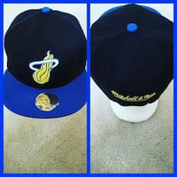 black and white fitted cap Capitol Heights, 20743