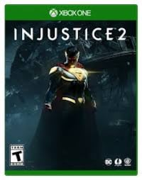 Injustice 2 Xbox One game case Burnaby