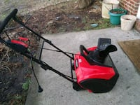 Snow blower electric power Chantilly, 20152