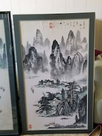 Chinese watercolour pictures  La Habra, 90631