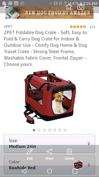 red and black pet carrier Gloucester County, 08051