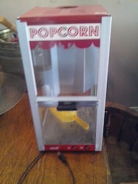 Theater style Popcorn maker (glass) Brant, N3L 3R5